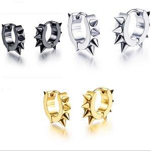 Jewelry - NEW Small Hoop Spiky Earrings