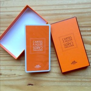 Authentic Hermes Knotting Cards ( Unopened)