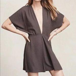 Reformation Kimono Sleeve Mini Dress