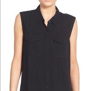 bp Tops - BP. Sleeveless Safari Shirt