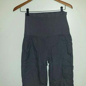 Oh! Mamma Pants - Gray maternity pants