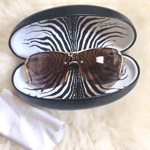 Roberto Cavalli Accessories - Roberto Cavalli Gold Snake Sunglasses