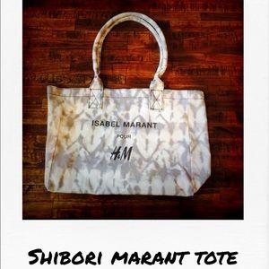 Isabel Marant pour H&M Handbags - Fun Shibori Print Designer Tote