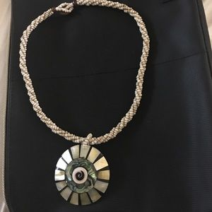 Jewelry - Shell/bead necklace from Playa Del Carman. New