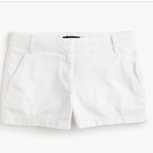 "J. Crew Pants - 🎉HP🎉NWT J.Crew Optic White 3"" chino shorts"