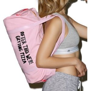 "ban.do Handbags - ban.do ""After This We're Getting Pizza"" Gym Bag"