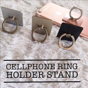 Other - BLACK • Cellphone Ring Holder Stand 📲