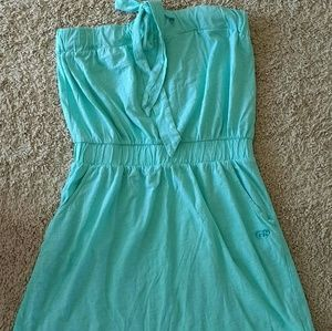other Dresses & Skirts - Strapless turqoise dress size M