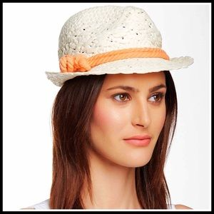 David Young Accessories - Woven Fedora Sun Hat