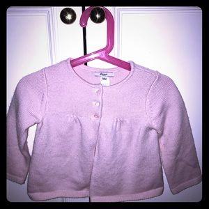 Jacadi Other - Jacadi pink wool 3 button shrug bolero cardigan