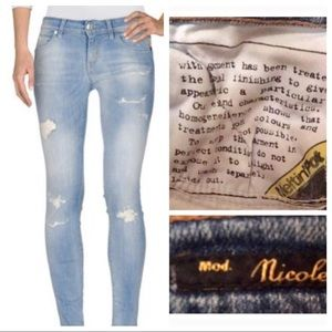 Meltin Pot Denim - Blue Distressed Pants 👖