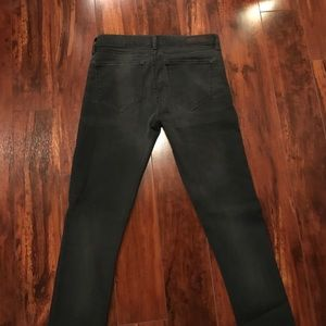 Charcoal Grey All Saints Jeans