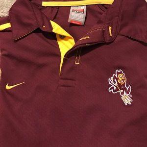 Nike Other - Arizona State Dri Fit Nike collared Shirt