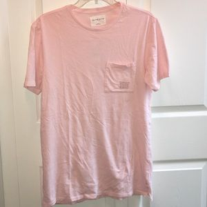 on the byas Other - On The Byas pink men's basic small tee cut sides