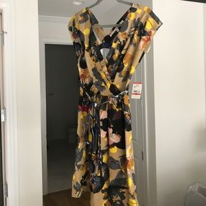 NWT Rachel Roy flower summer dress XS