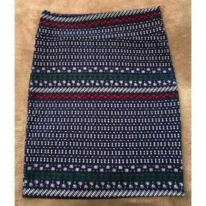 LuLaRoe Skirts - LuLaRoe Cassie Pencil Skirt Stretch 2X