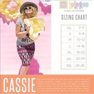 LuLaRoe Skirts - LuLaRoe Cassie Stretch Pencil Skirt Tribal Boho 2X