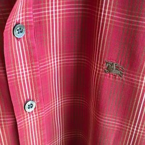 Burberry Other - BURBERRY Red plaid button down shirt