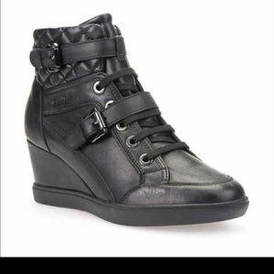 "Geox Shoes - Geox "" Eleni"" respira in black size European 41"