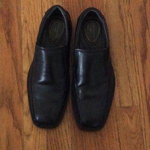 Dockers Other - Mens Slip on Franchise Black Dress Shoe-Size 9M