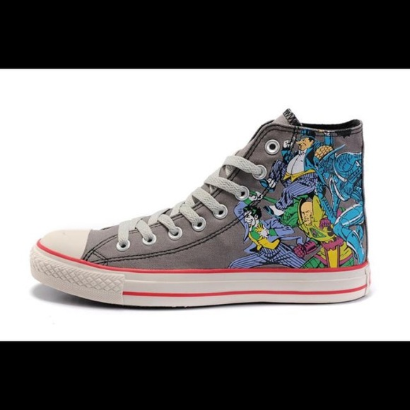 Converse Other - Converse x DC Comics Good Vs Evil Justice League b55f0a060