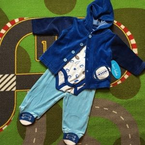 Bon Bebe Other - 🏈NEW 🏈 Cozy Football Set for Baby Boy