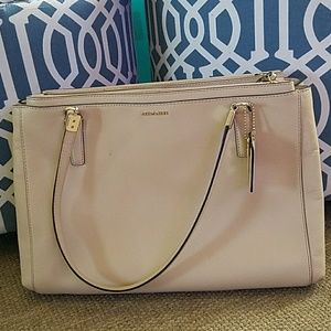 Coach MADISON CHRISTIE CARRYALL SAFFIANO LEATHER