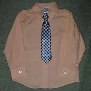 Other - Boys dress shirt w/ tie