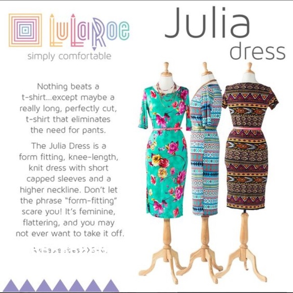 LuLaRoe Dresses - LuLaRoe Julia Floral Dress Purple Black Runs Small