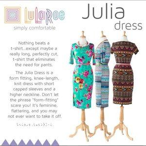LuLaRoe Dresses - LuLaRoe Julia Floral Dress Purple Black Runs Small