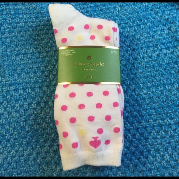 kate spade Accessories - Kate Spade Pink Sock Set