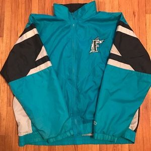 Florida Marlins Starter Jacket & Rockies Tee trade
