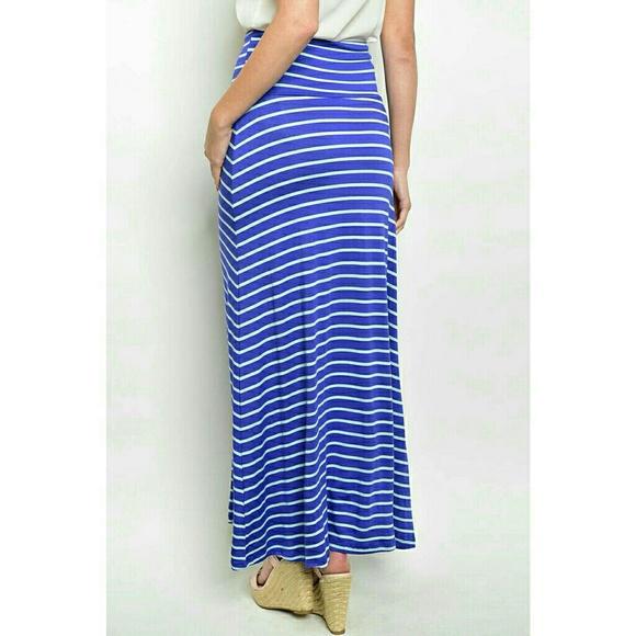 40 dresses skirts blue mint green striped maxi