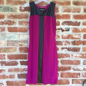 Un Deux Trois Dresses & Skirts - Un Deux Trois Fitted Faux Leather Pleather T curve