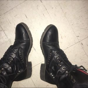 American Rag Shoes - Black studded boots