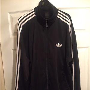 XL Black Adidas track jacket L track pants