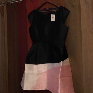 ♠️Kate Spade color block dress