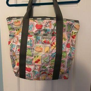 LeSportsac Handbags - Le Sport Sac large nylon fruit tote