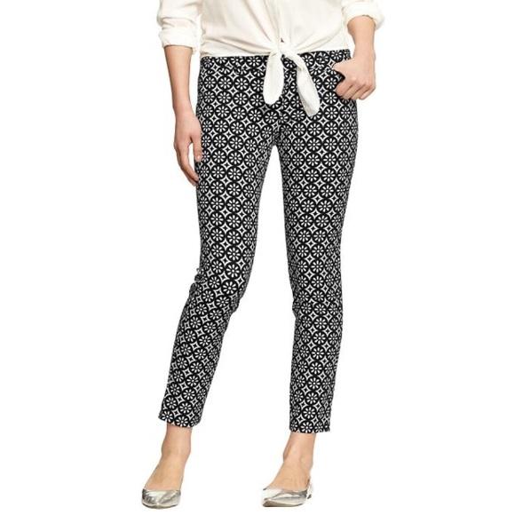 f4141747839 Old Navy Black and White Printed Diva Pants. M 58dedb4ebcd4a730d900cafa