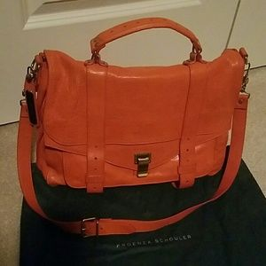 Proenza Schouler Handbags - Proenza schouler orange leather bag