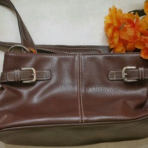 Brown Leather Tommy Hilfiger Purse