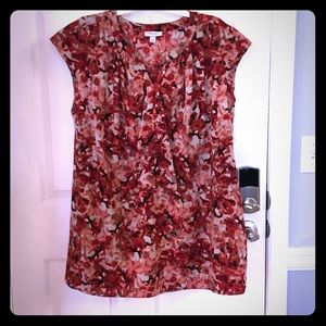 Tops - Red Maternity Tunic Top XXL