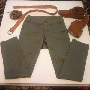 American Eagle Outfitters Pants - Olive green pants