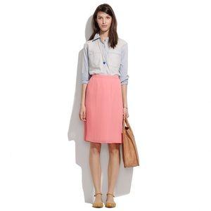 Madewell Mini Pleat Skirt