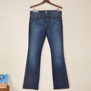 New 7 For All Mankind NNYD Size 30 Dark Wash Jeans