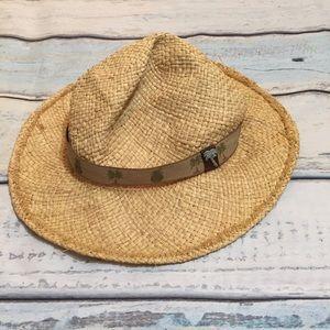 Scala Other - Classic Straw Palm Tree Sun Hat