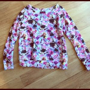 Forever 21 Tops - Barbie Forever 21 F21 HTF Pink Sweatshirt Top sz M