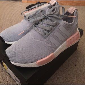 Adidas-nmd_r1 Onix Zapatos-para Mujer-claro / Aluminio-9 EK0orI6gm2