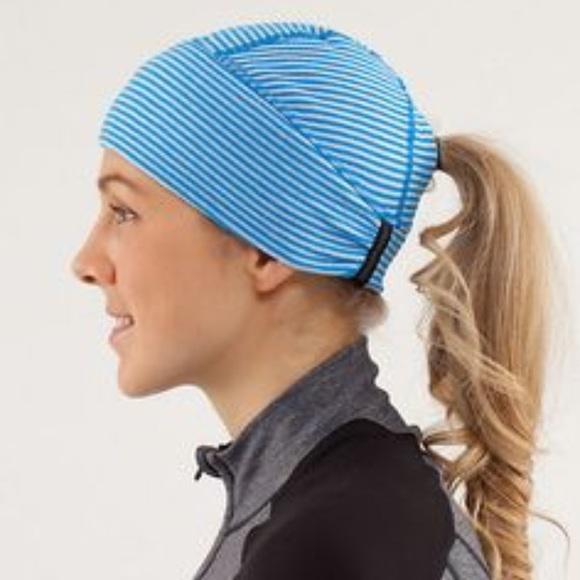 lululemon athletica Accessories - Lululemon ponytail hat 73772120ef4
