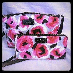 kate spade Handbags - KATE SPADE  ROSE BED CROSSBODY